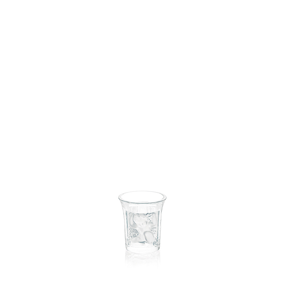 Enfants liquor shot glass | Enfants collection, clear crystal | Glass Lalique