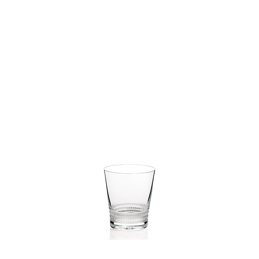 Facet tumbler N°2 | Facet collection, clear crystal | Glass Lalique