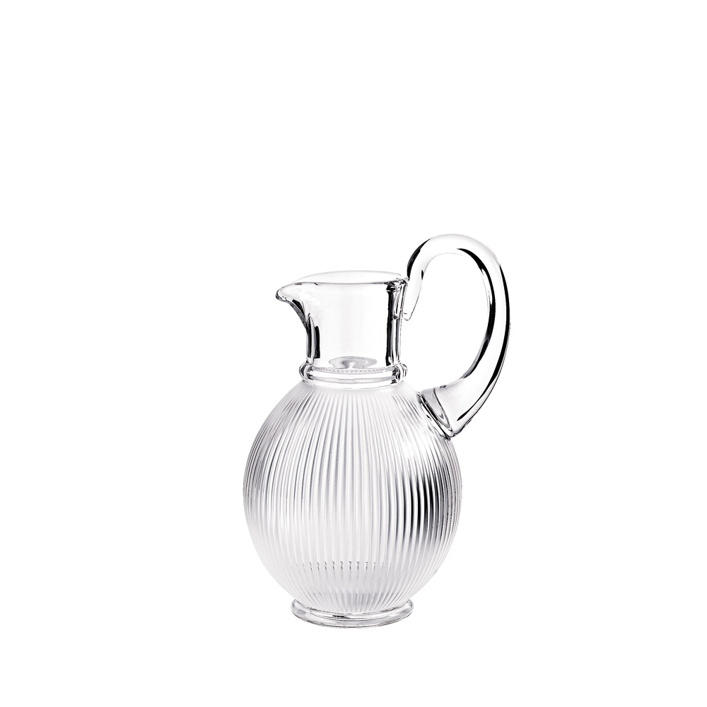 Langeais pitcher | Langeais collection, clear crystal | Glass Lalique