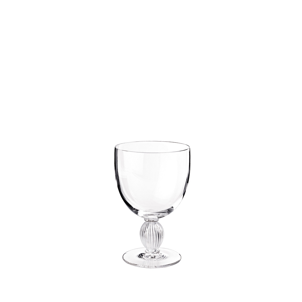 Langeais water glass N°1 | Langeais collection, clear crystal | Glass Lalique