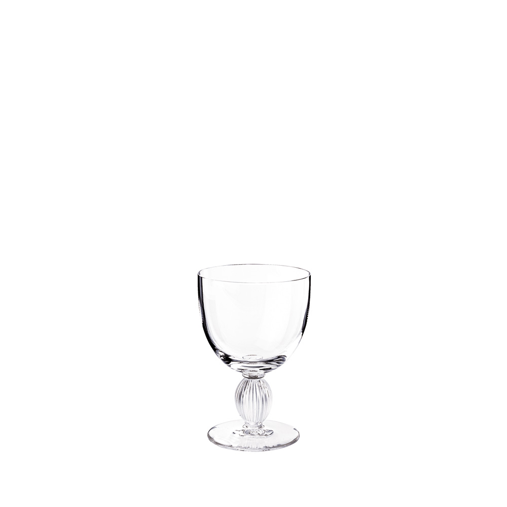 Langeais Burgundy glass | Langeais collection, clear crystal | Glass Lalique