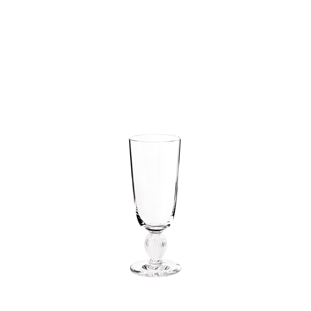 Langeais Champagne flute | Langeais collection, clear crystal | Glass Lalique