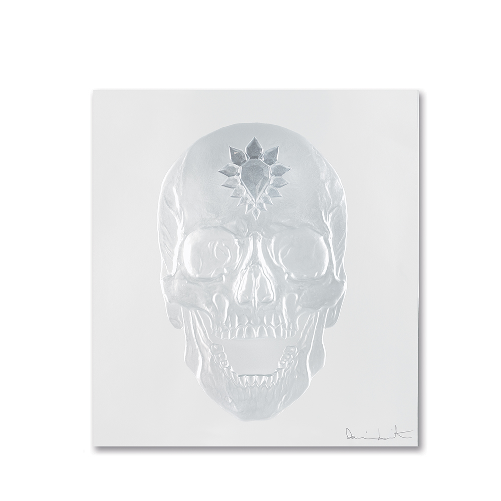Eternal Memento, crystal panel | Limited edition (50 pieces), clear crystal| Eternal, Damien Hirst and Lalique