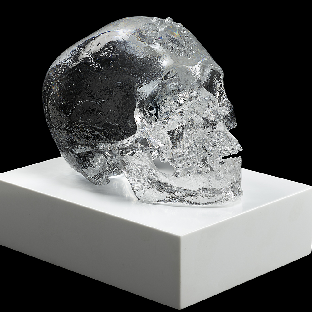 Eternal Sleep, crystal sculpture | Limited edition (35 pieces), clear crystal| Eternal, Damien Hirst and Lalique