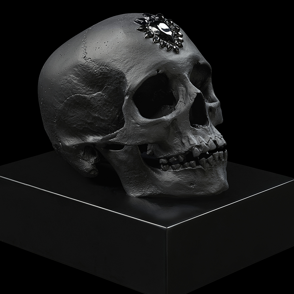 Eternal Sleep, crystal sculpture | Limited edition (35 pieces), black crystal| Eternal, Damien Hirst and Lalique
