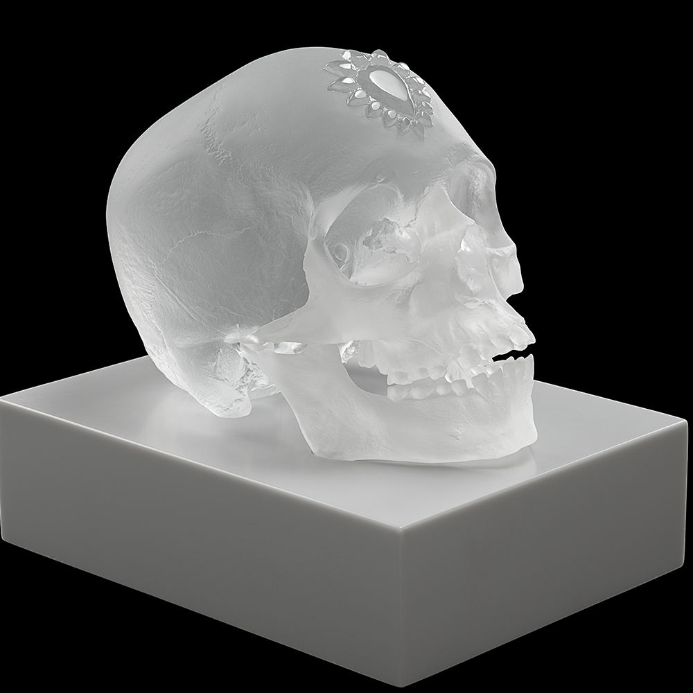 Eternal Sleep, crystal sculpture | Limited edition (35 pieces), satin clear crystal| Eternal, Damien Hirst and Lalique
