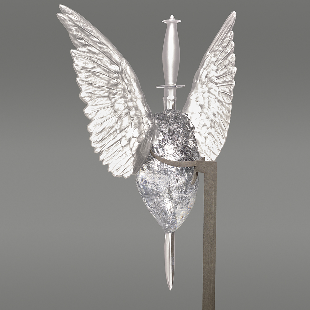 Eternal Immaculate, crystal sculpture | Limited edition (20 pieces), clear crystal | Eternal, Damien Hirst and Lalique