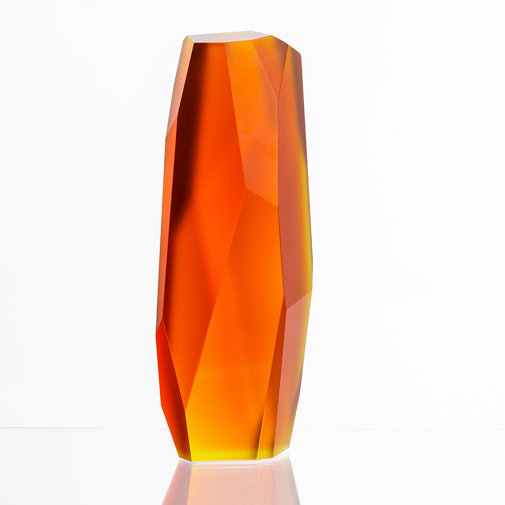 ROCKSTONE 40 | Limited edition of 8, amber crystal