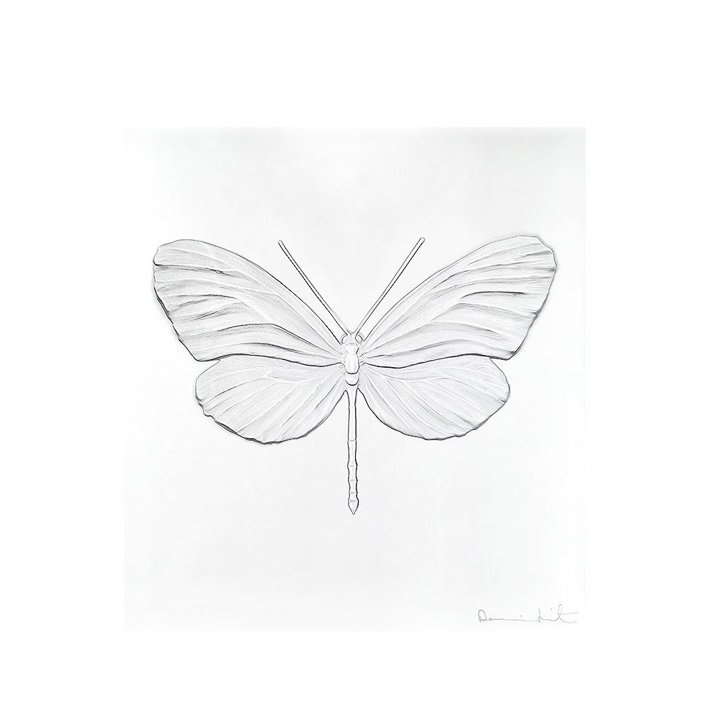 Eternal Hope, crystal panel | Limited edition (50 pieces), clear crystal | Eternal, Damien Hirst and Lalique