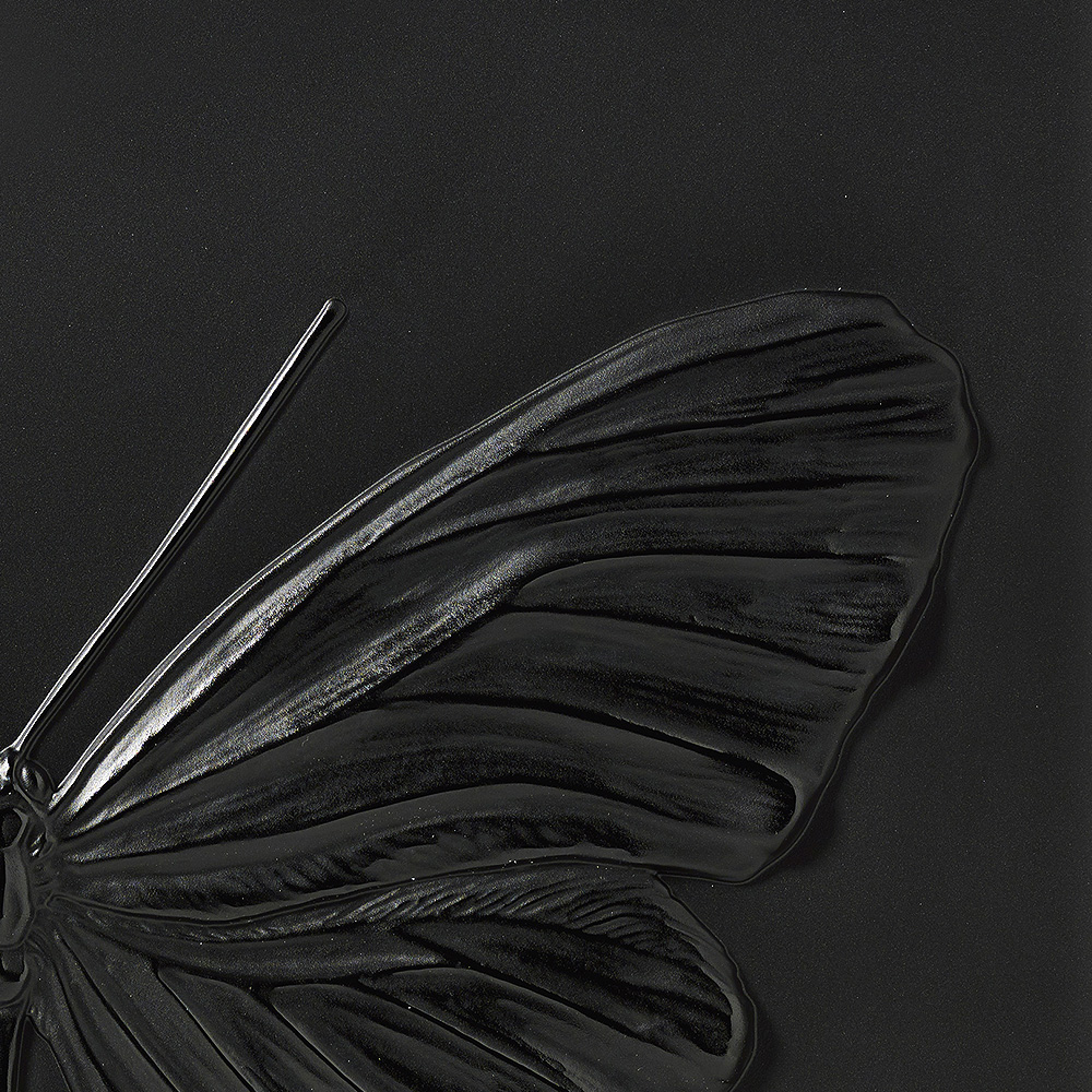 Eternal Hope, crystal panel | Limited edition (50 pieces), black crystal | Eternal, Damien Hirst and Lalique