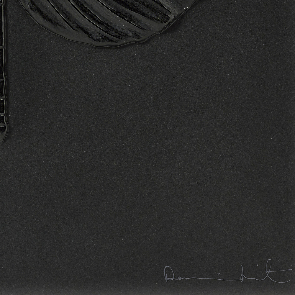 Eternal Hope, crystal panel   Limited edition (50 pieces), black crystal   Eternal, Damien Hirst and Lalique