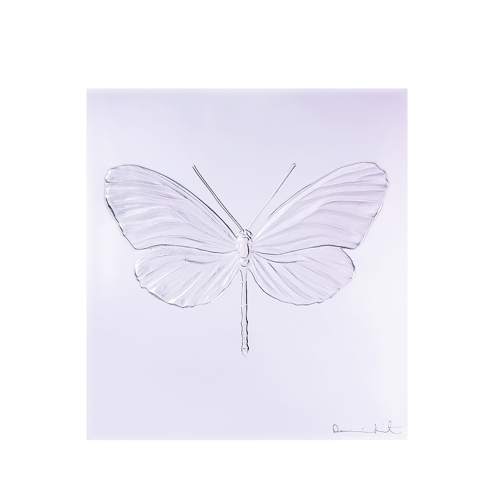 Eternal Hope, crystal panel | Limited edition (50 pieces), lavender crystal | Eternal, Damien Hirst and Lalique