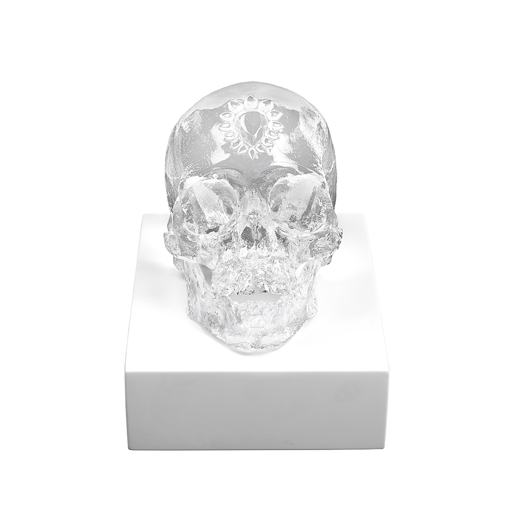 Eternal Sleep, crystal sculpture   Limited edition (35 pieces), clear crystal  Eternal, Damien Hirst and Lalique