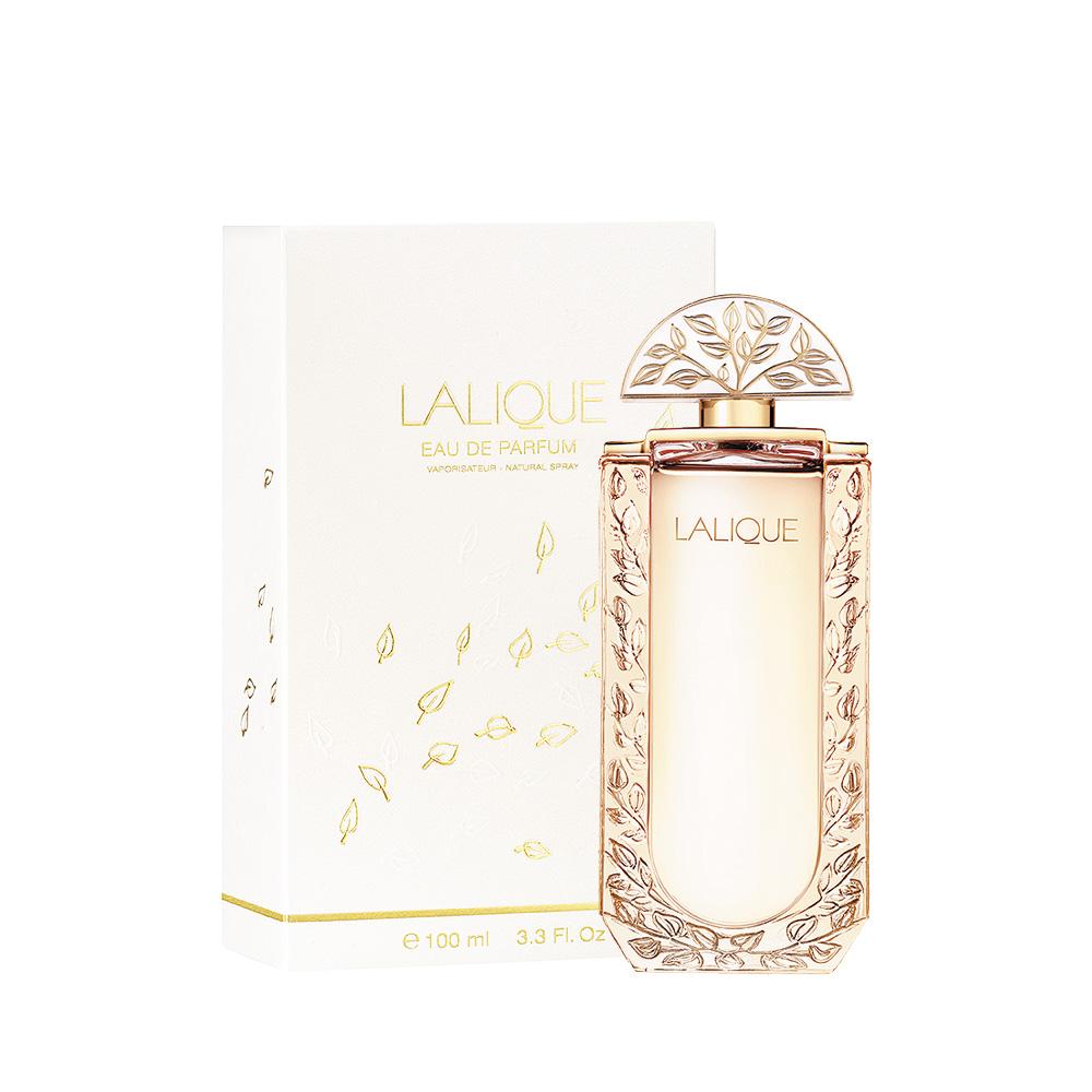 LALIQUE DE LALIQUE Eau de Parfum | 100 ml (3.3 Fl. Oz.) Natural Spray | Lalique Parfums
