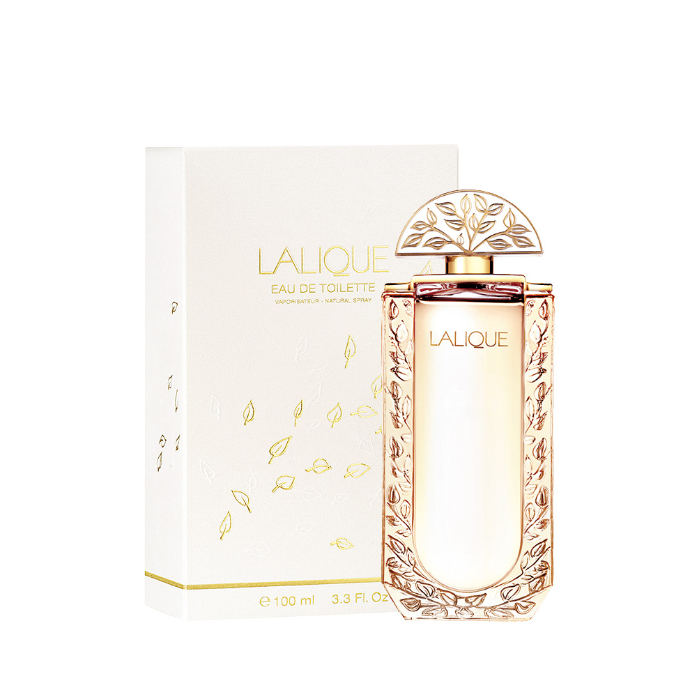 LALIQUE DE LALIQUE Eau de Toilette | 100 ml (3.3 Fl. Oz.) Natural Spray | Lalique Parfums