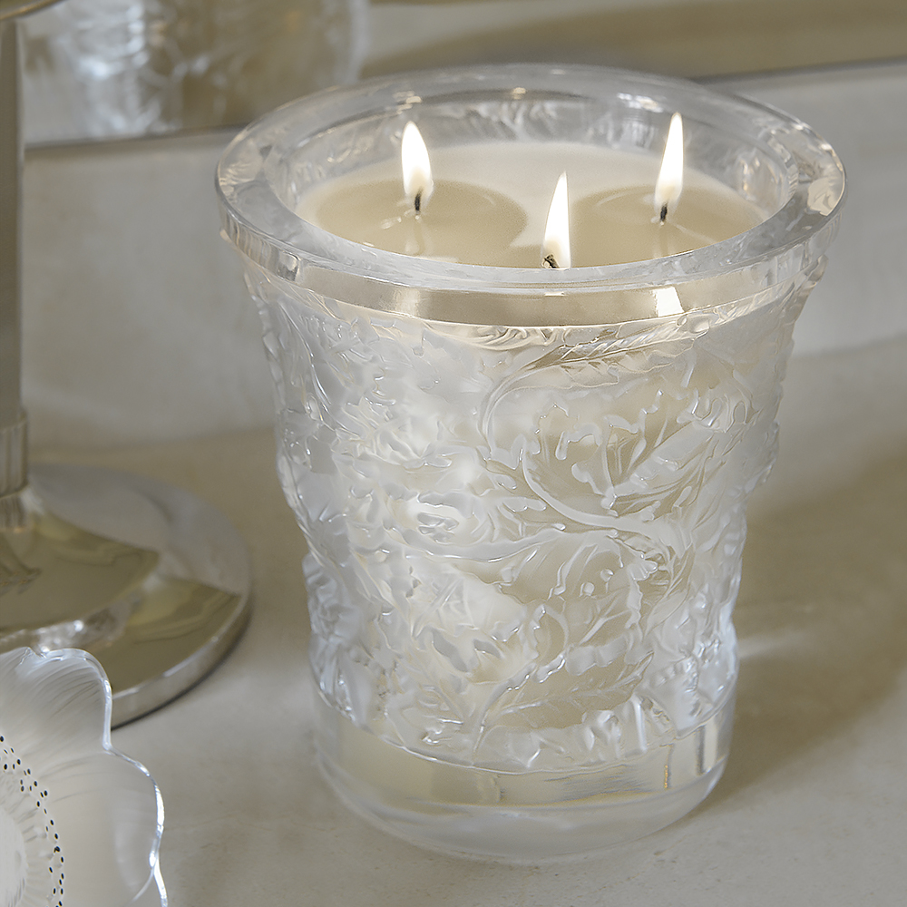Forest crystal scented candle | 750 g (26.5 Oz.) | Lalique Parfums