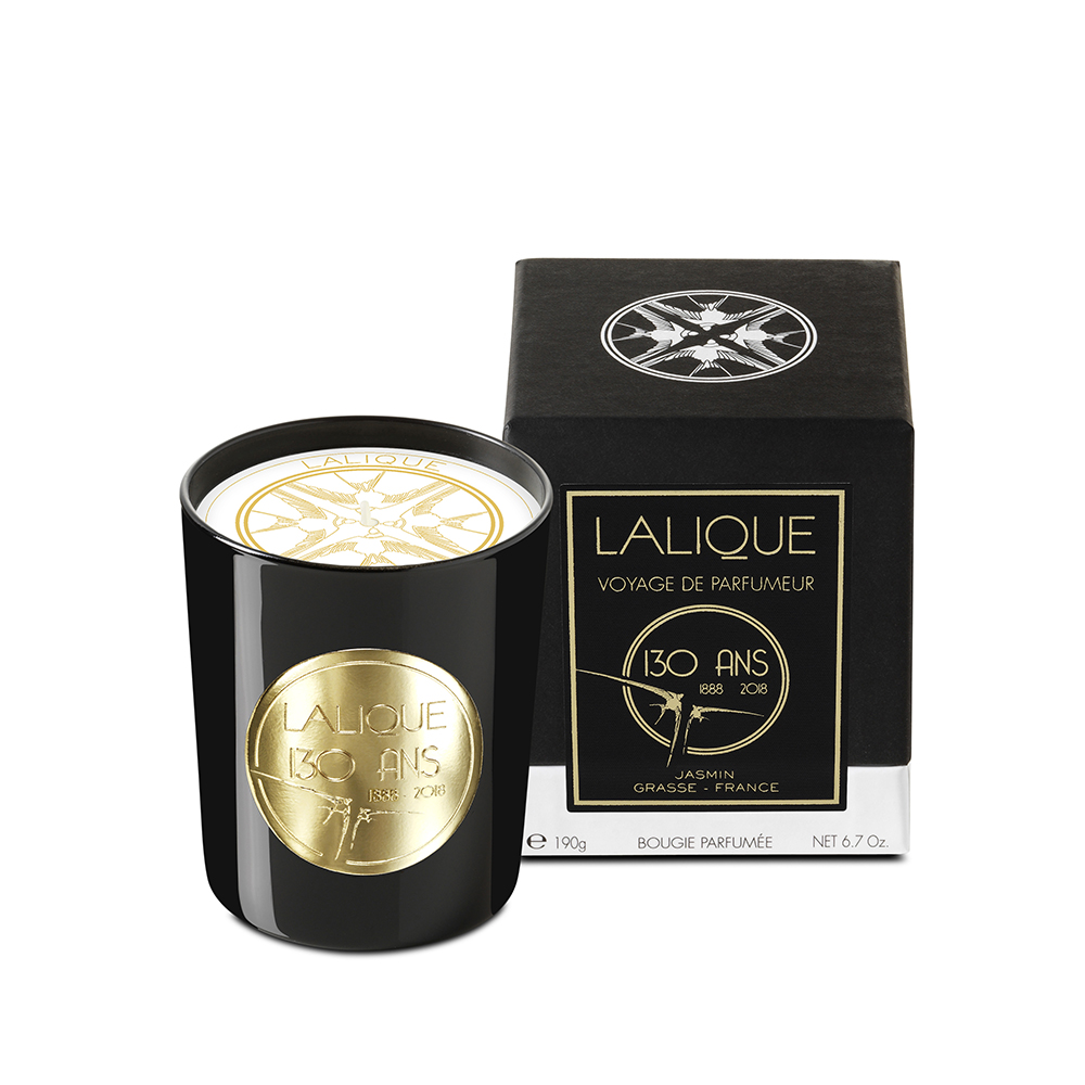 JASMINE,  Scented Candle | 190 g (6.5 Oz.) | Lalique Parfums
