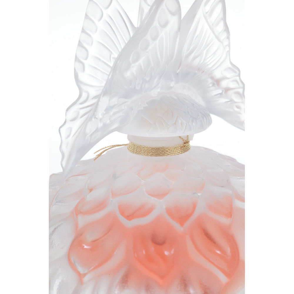 LALIQUE DE LALIQUE Crystal Flacon | Limited, Numbered and Signed Edition 2003, 60 ml (2 Fl. Oz.) | Lalique Parfums