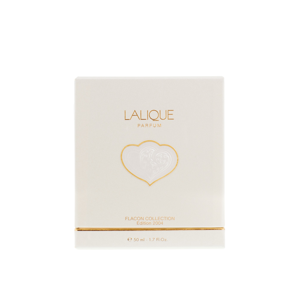 LALIQUE DE LALIQUE Crystal Flacon | Limited, Numbered and Signed Edition 2004, 100 ml (3.3 Fl. Oz.) | Lalique Parfums