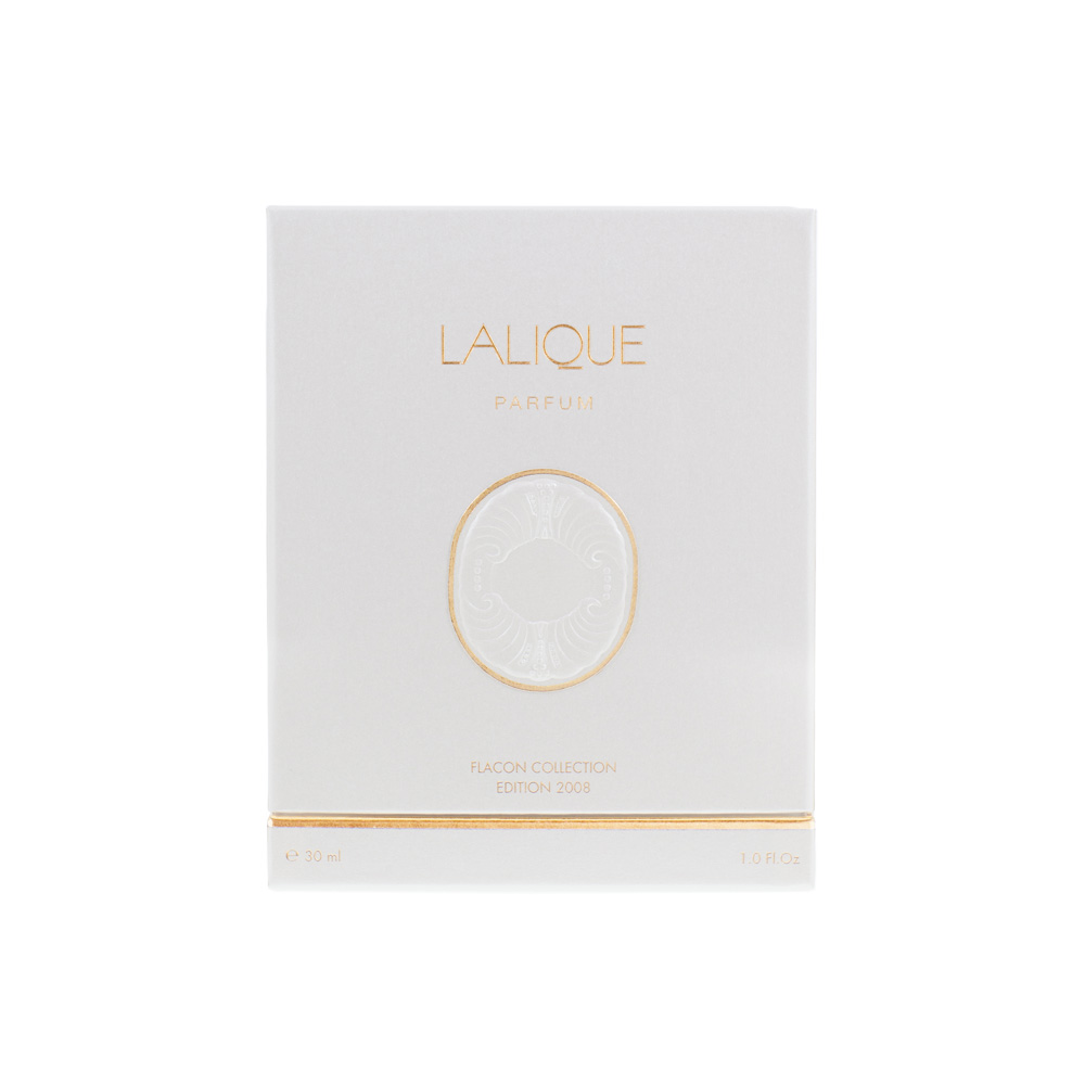 LALIQUE DE LALIQUE Crystal Flacon | Limited, Numbered and Signed Edition 2008, 30 ml (1 Fl. Oz.) | Lalique Parfums