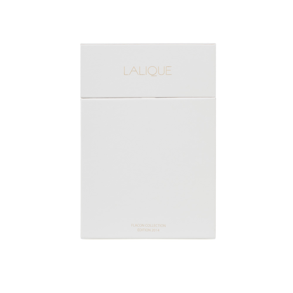 LALIQUE DE LALIQUE Crystal Flacon | Limited, Numbered and Signed Edition 2014, 100 ml (3.3 Fl. Oz.) | Lalique Parfums
