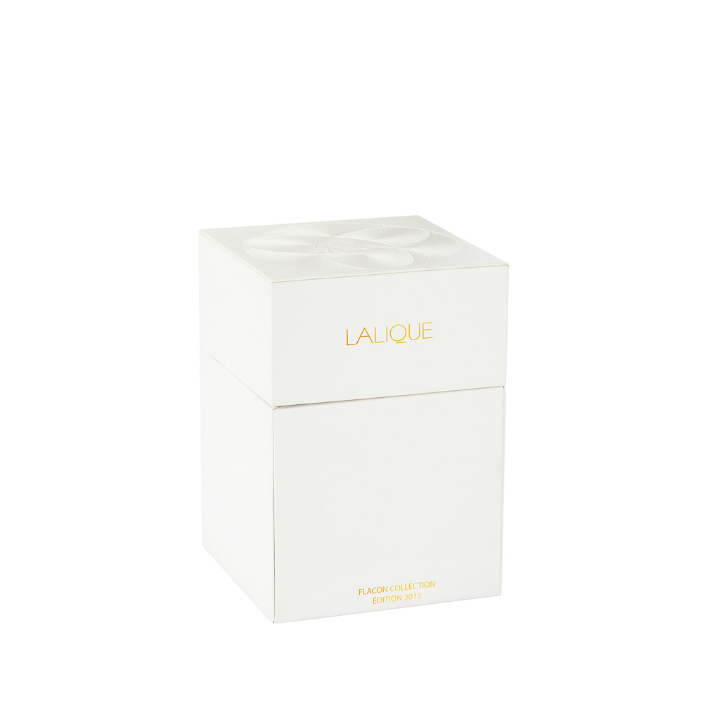 LALIQUE DE LALIQUE Crystal Flacon | Limited, Numbered and Signed Edition 2015, 100 ml (3.3 Fl. Oz.) | Lalique Parfums
