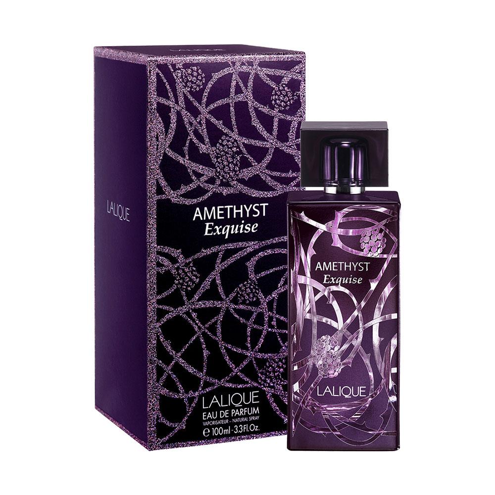 AMETHYST EXQUISE Eau de Parfum | 100 ml (3.3 Fl. Oz.) Natural Spray | Lalique Parfums