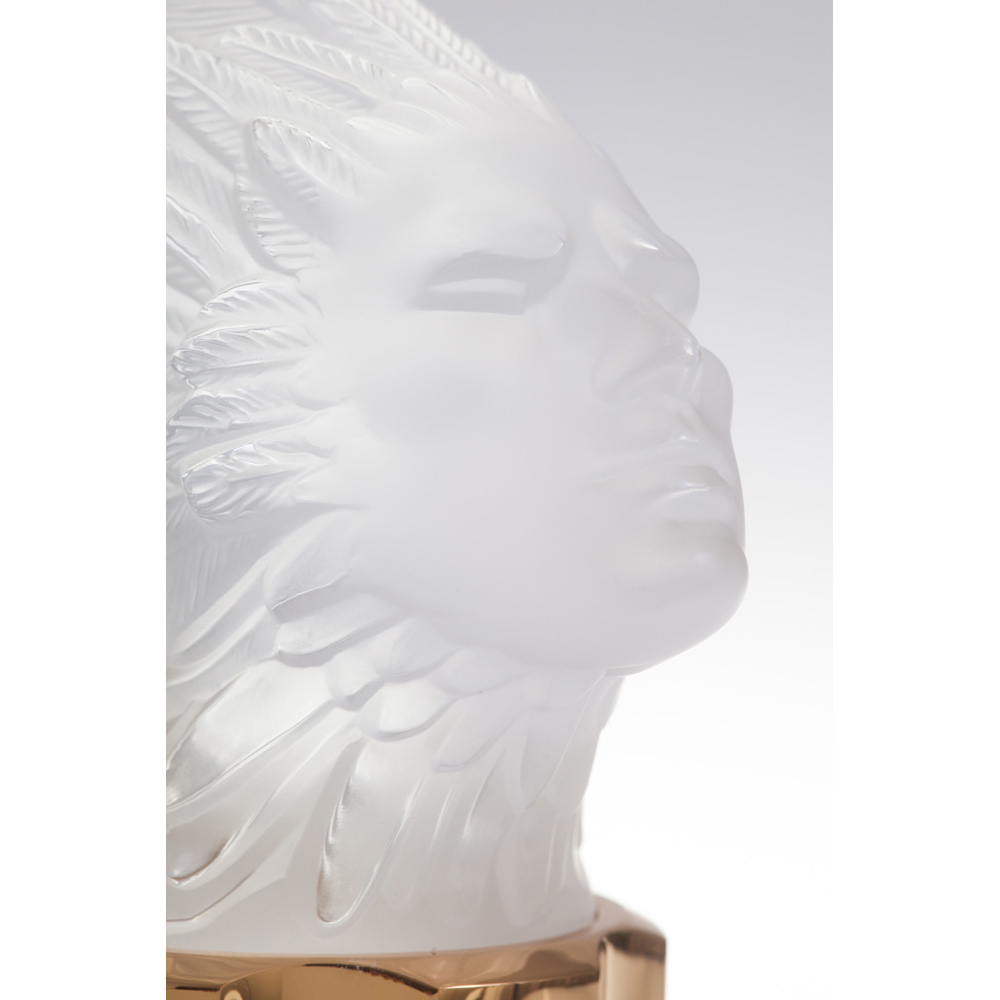 LALIQUE POUR HOMME LION Crystal Flacon | Limited, Numbered and Signed Edition 2000, 100 ml (3.3 Fl. Oz.) | Lalique Parfums