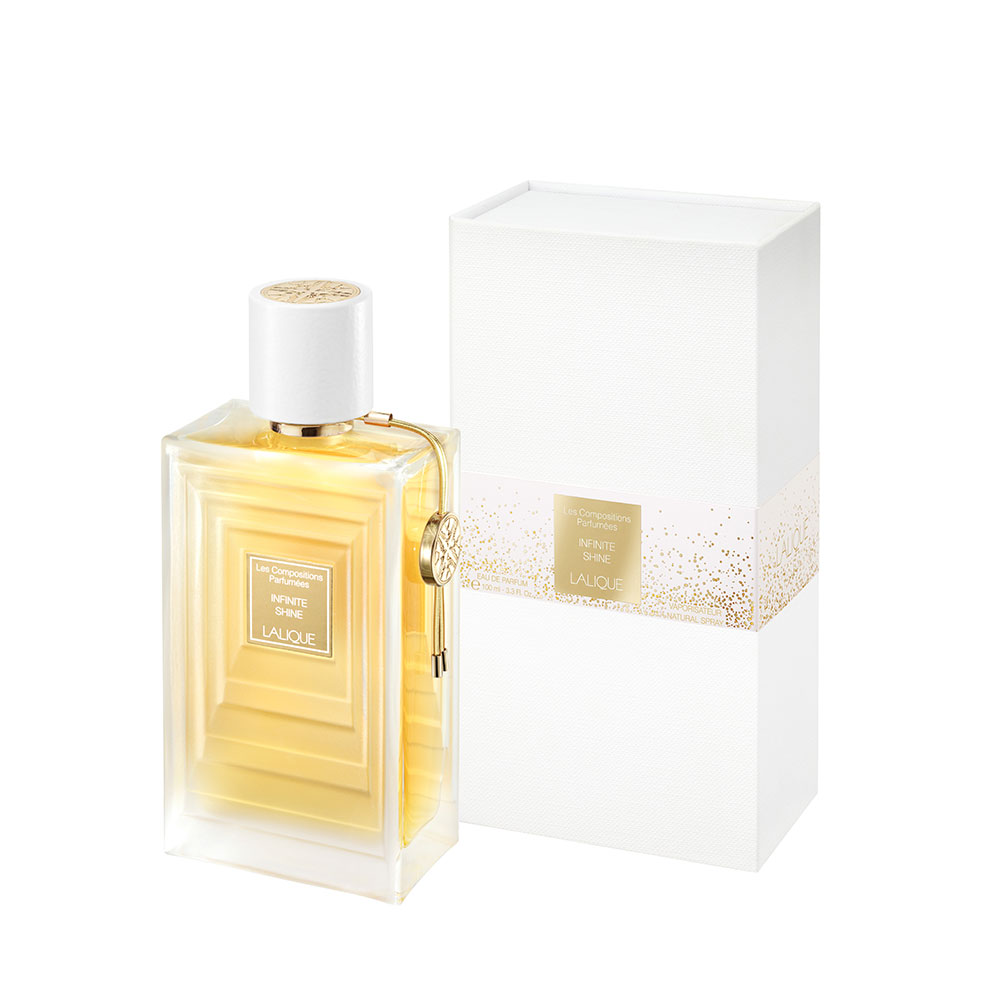 Infinite Shine Eau de Parfum | 100 ml (3.3 Fl. Oz.) Natural Spray | Lalique Parfums