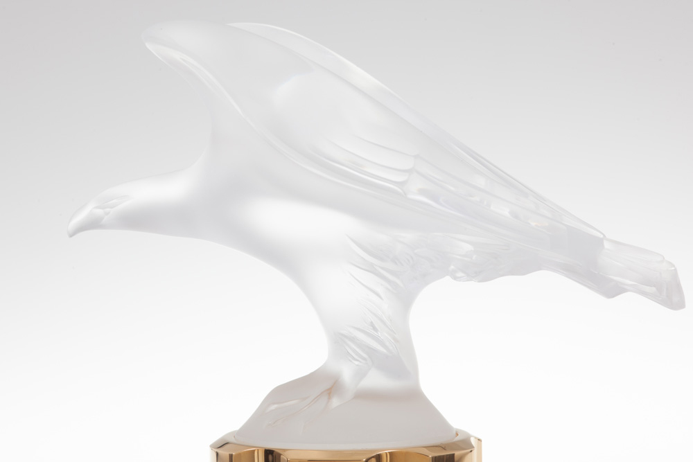 LALIQUE POUR HOMME EQUUS Crystal Flacon | Limited, Numbered and Signed Edition 2003, 100 ml (3.3 Fl. Oz.) | Lalique Parfums