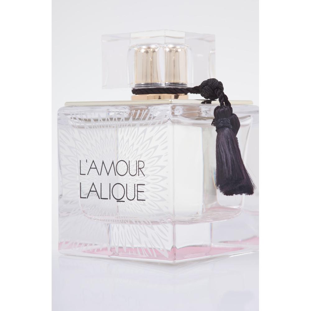L'AMOUR Eau de Parfum | 100 ml (3.3 Fl. Oz.) Natural Spray | Lalique Parfums