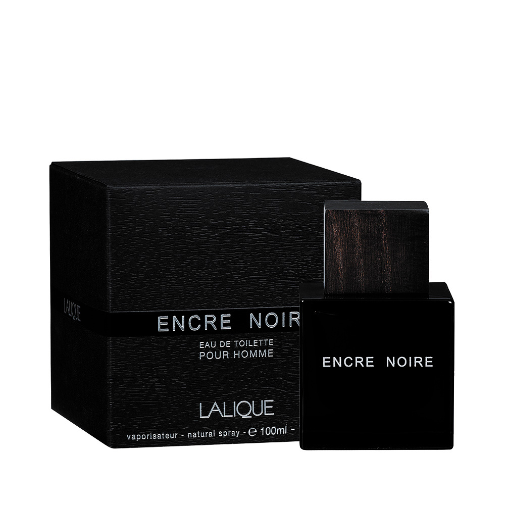 ENCRE NOIRE Eau de Toilette | 100 ml (3.3 Fl. Oz.) Natural Spray | Lalique Parfums