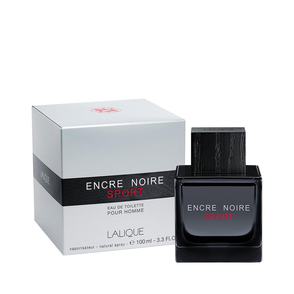 ENCRE NOIRE SPORT Eau de Toilette | 100 ml (3.3 Fl. Oz.) Natural Spray | Lalique Parfums