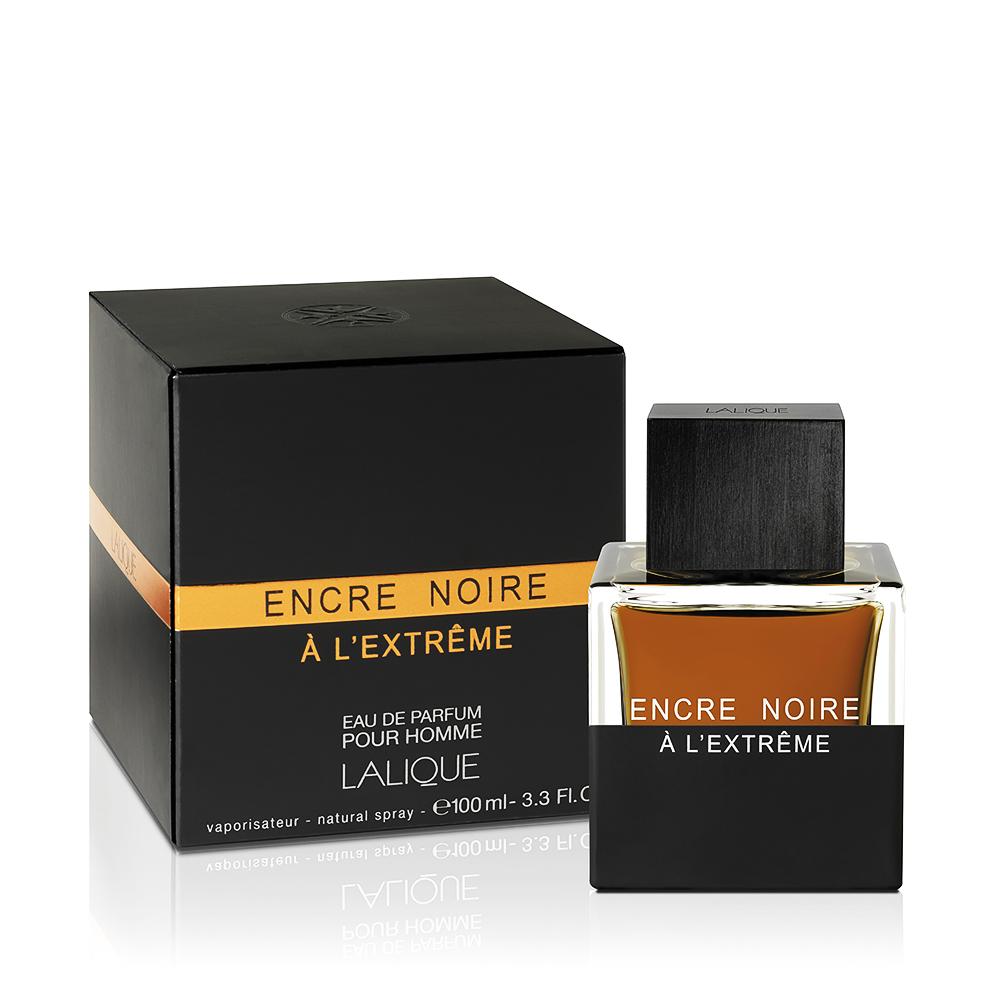 ENCRE NOIRE À L'EXTRÊME Eau de Parfum | 100 ml (3.3 Fl. Oz.) Natural Spray | Lalique Parfums