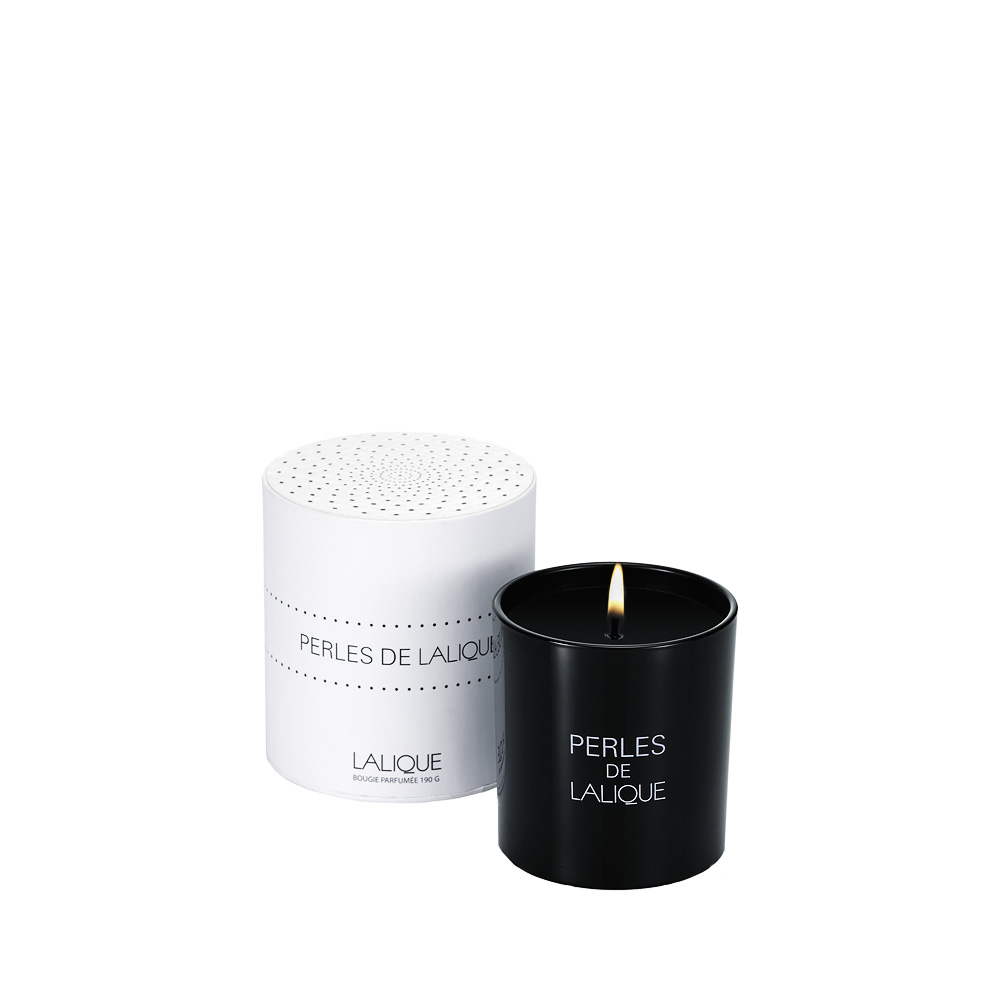 PERLES DE LALIQUE Scented Candle | 190 g (6.5 Oz.) | Lalique Parfums