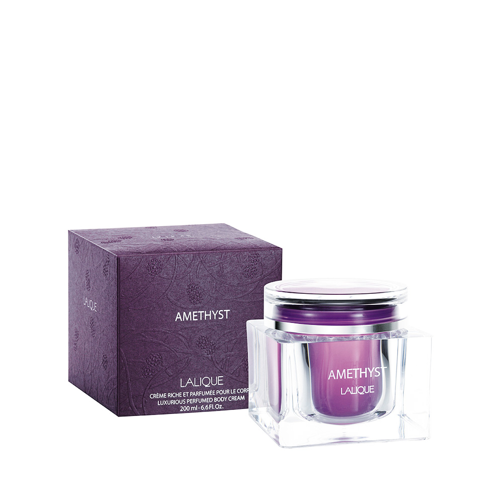 AMETHYST Perfumed Body Cream | 200 ml (6.75 Fl. Oz.) Jar | Lalique Parfums