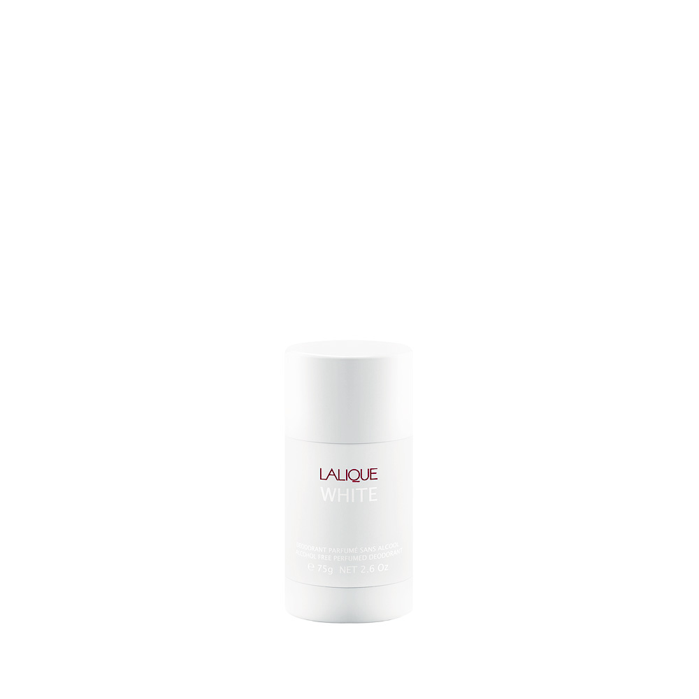 LALIQUE WHITE Perfumed Deodorant Stick | 2.5 Oz. (75 g) | Lalique Parfums
