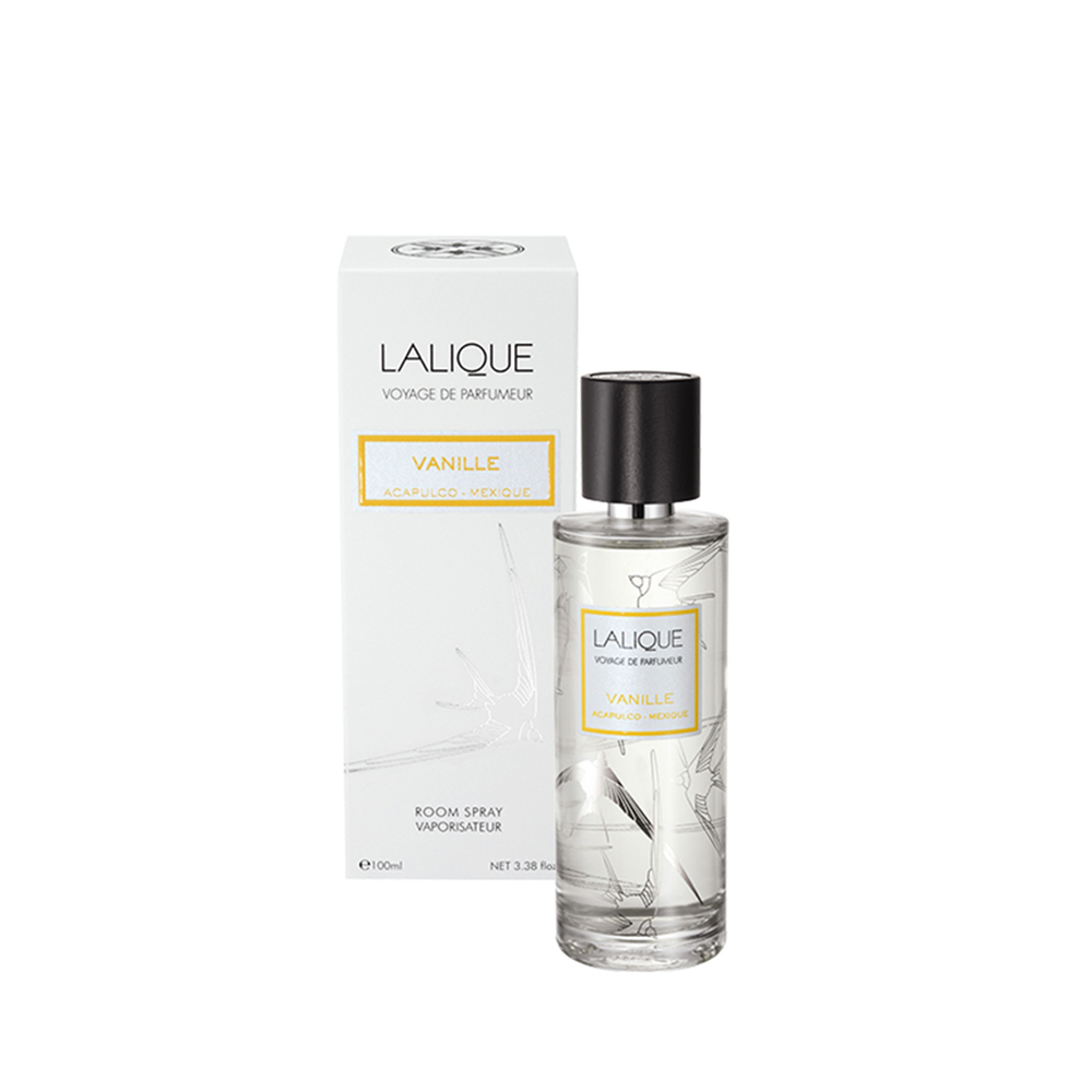 Vanilla, Acapulco - Mexico, Room Spray | 100 ml (3.38 Fl. Oz.) | Lalique Parfums