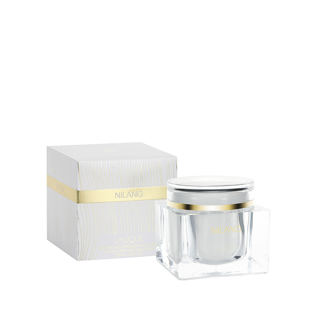 NILANG Perfumed Body Cream | 200 ml (6.75 Fl. Oz.) Jar | Lalique Parfums