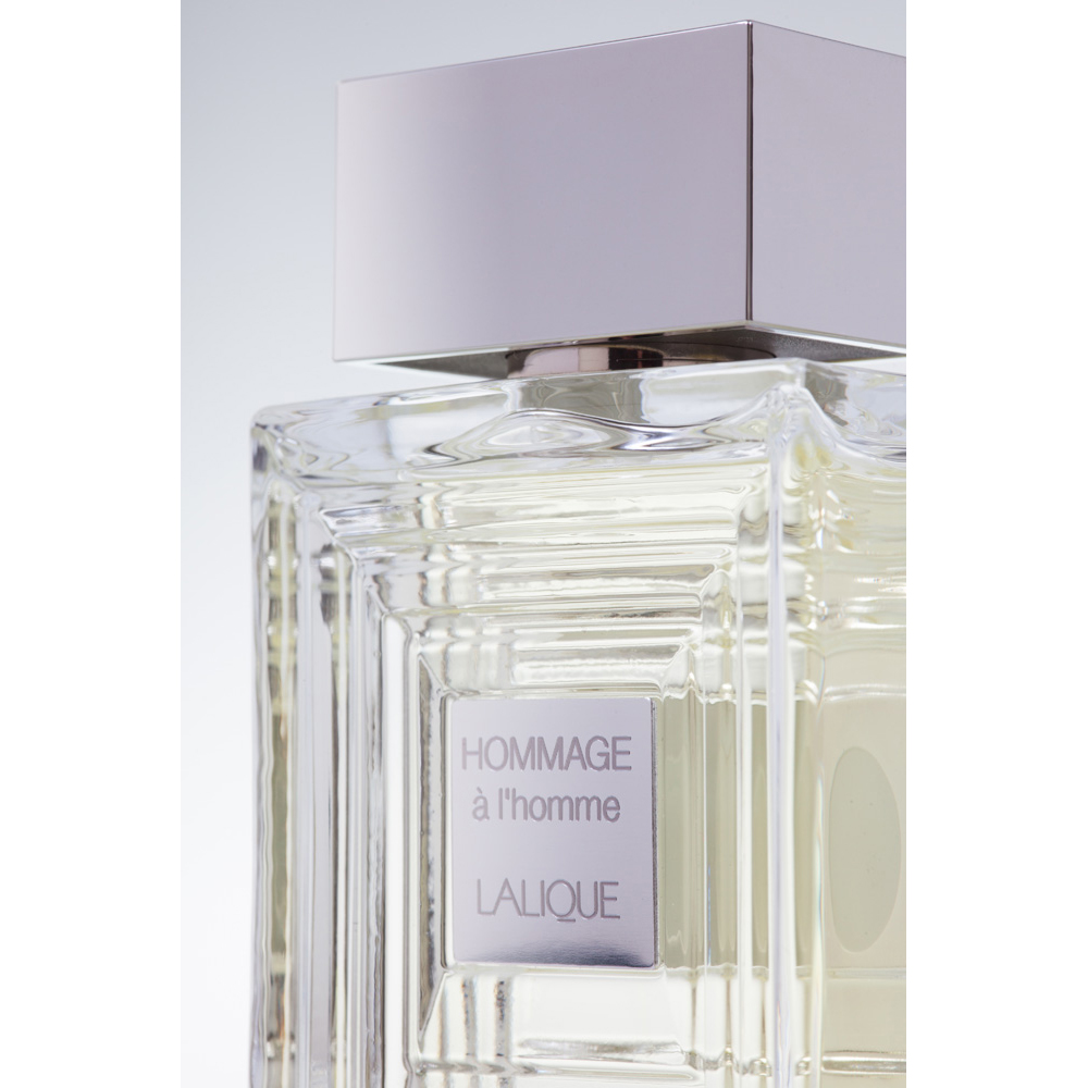 HOMMAGE À L'HOMME Eau de Toilette | 50 ml (1.7 Fl. Oz.) Natural Spray | Lalique Parfums