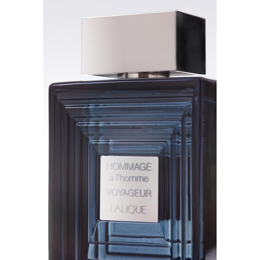 HOMMAGE À L'HOMME VOYAGEUR  Eau de Toilette | 100 ml (3.3 Fl. Oz.) Natural Spray | Lalique Parfums