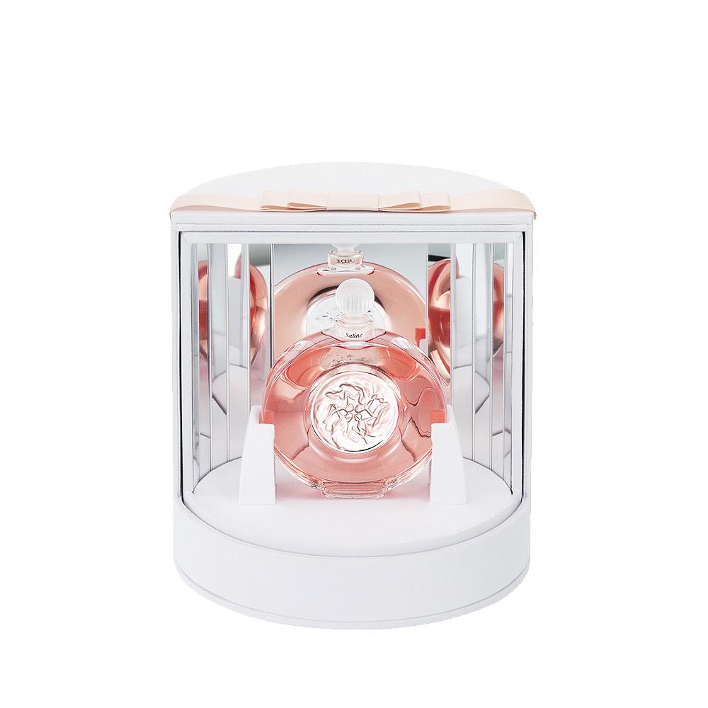 SATINE Crystal Flacon | Extrait de parfum, 40 ml (1.3 Fl. Oz.) | Lalique Parfums