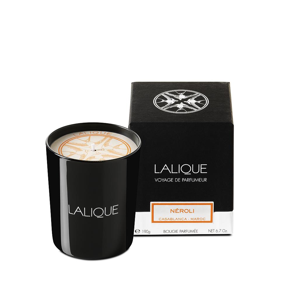 Néroli, Casablanca - Morocco, Scented Candle | 190 g (6.7 Oz.) | Lalique Parfums