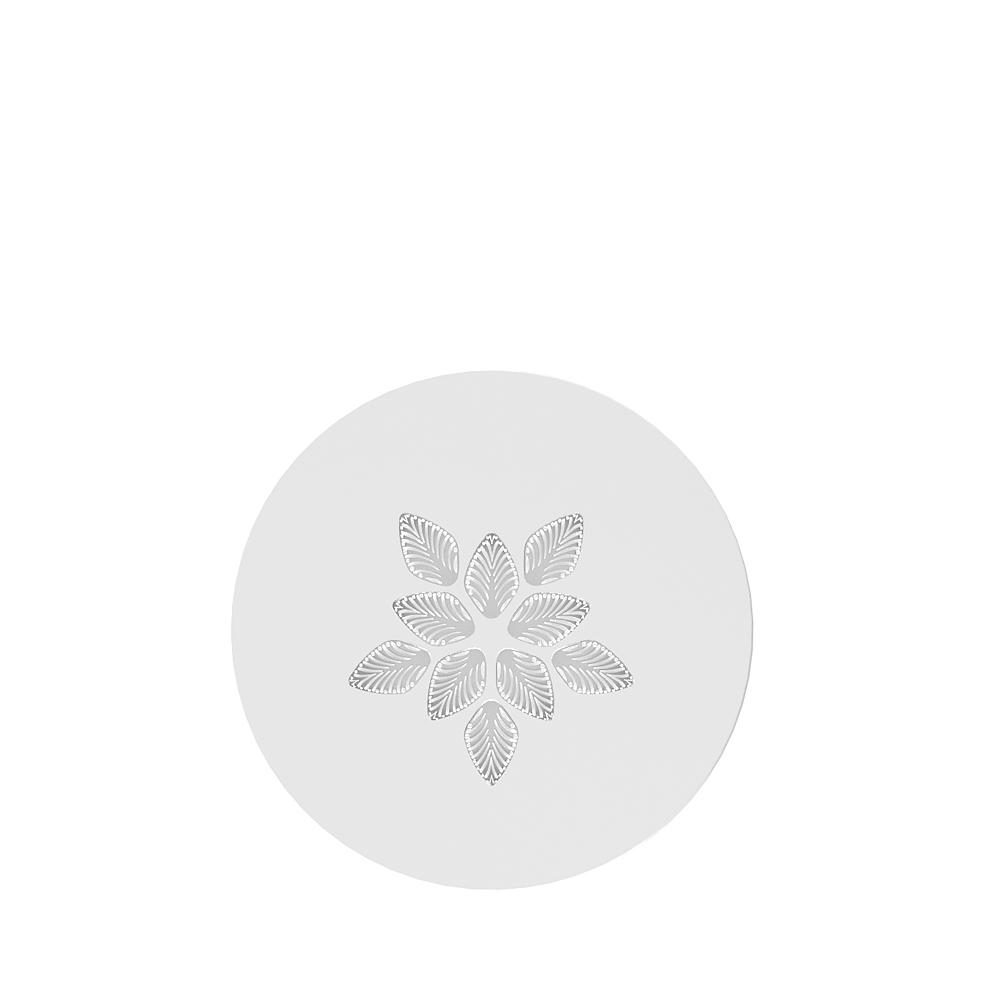 Languedoc interior panel | Clear crystal, satin finish glass, round | Interior Design Lalique