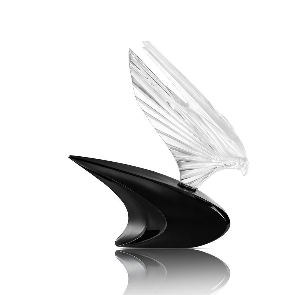 McLaren Falcon sculpture | Limited edition (20 pieces), clear crystal, lost wax | Sculpture Lalique
