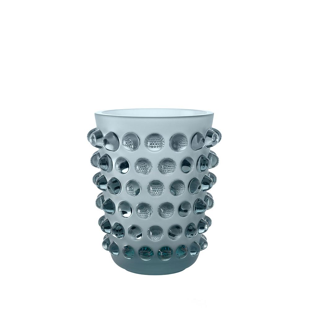 Mossi vase | Persepolis blue crystal | Vase Lalique