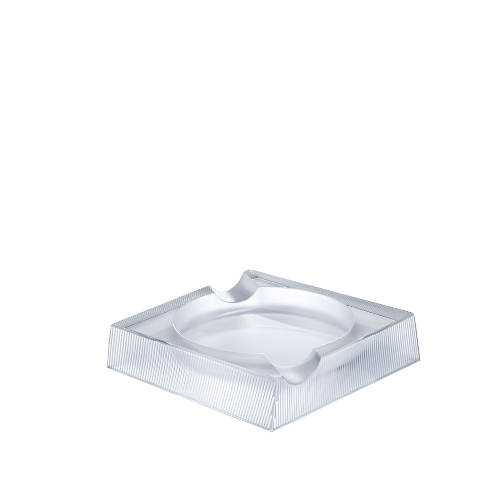 Wingen Ashtray | Clear crystal | Glass Lalique