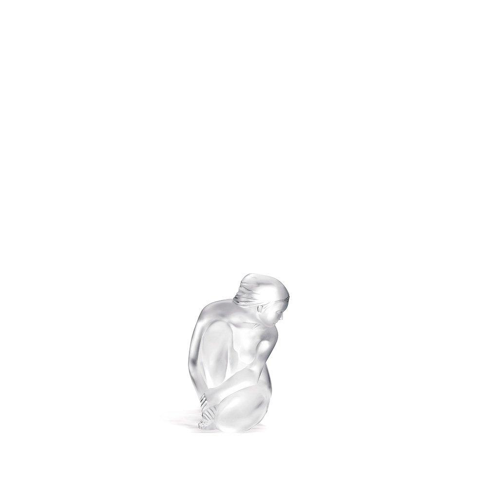 Venus, Small Nude sculpture   Clear crystal   Sculpture Lalique