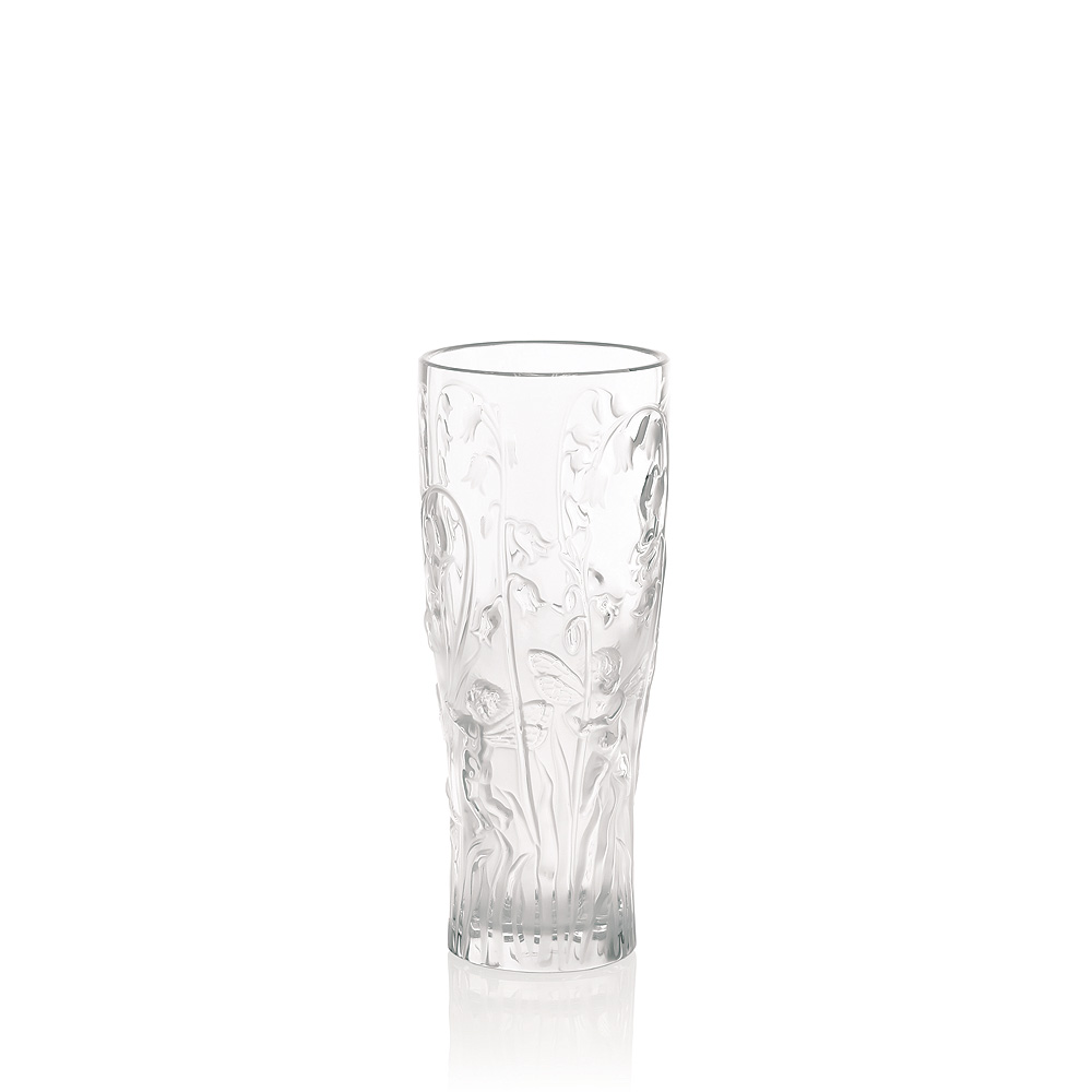 Elfes vase | Clear crystal | Vase Lalique
