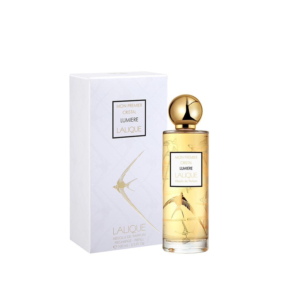 """MON PREMIER CRISTAL """"Lumiere"""" refill Absolu de Parfum   100 ml (3.3 Fl. Oz.)    Lalique Parfums"""